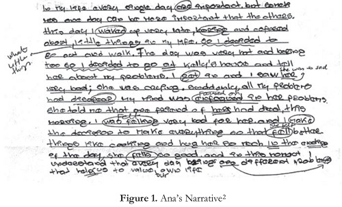 example of narrative paragraph about life
